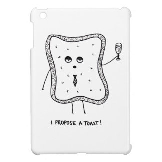 I Propose a Toast iPad Mini Cases