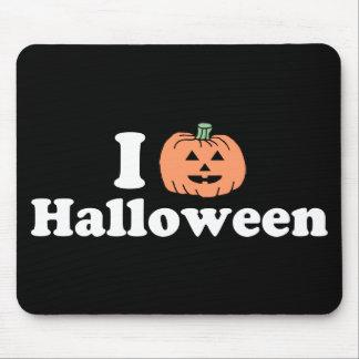 I Pumpkin Halloween Mouse Pads