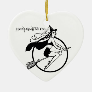 I Put a Spell on You Ceramic Ornament