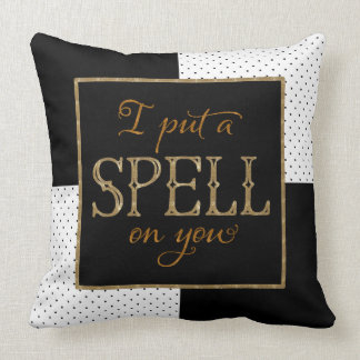 I Put a Spell on You - Halloween Throw Pillow