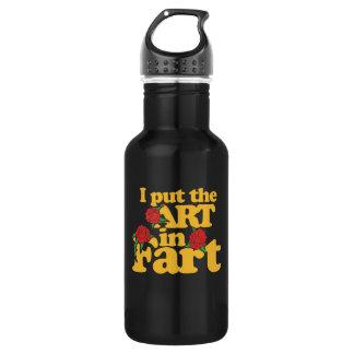 I put the art in fart 532 ml water bottle