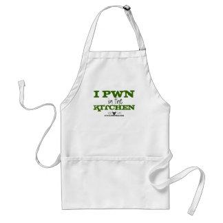 I Pwn in the Kitchen Apron