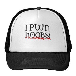 i pwn noobs mesh hat