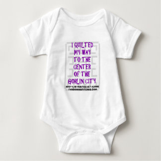 I Quilted My Way Baby Bodysuit