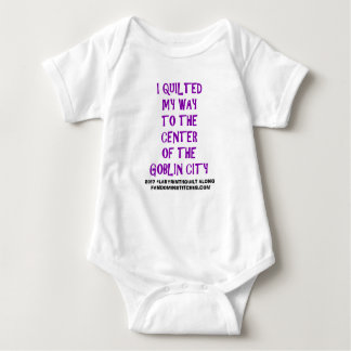 I Quilted My Way! Baby Bodysuit