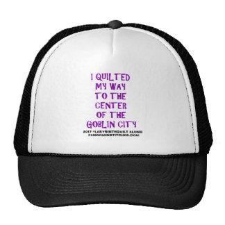 hat stitching machine