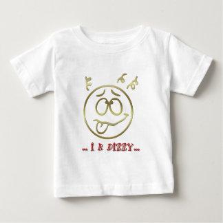 """"""" I R DIZZY """" EMOTICON BABY T-Shirt"""