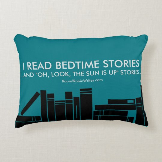 I Read Bedtime Stories (pillow) Decorative Pillow