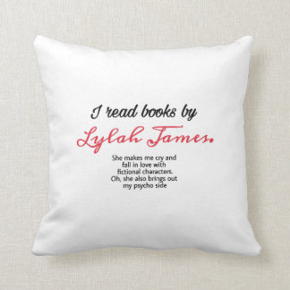 I read books by lylah James pillow