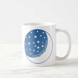 I Read Past My Bedtime Stylized Graphic Mug