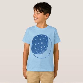 I Read Past My Bedtime Stylized Kids' T-shirt