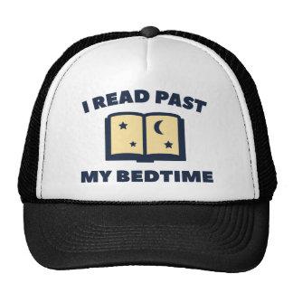 I Read Past My Bedtime Trucker Hat