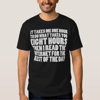 I Read the Internet for the Rest of the Day Shirt