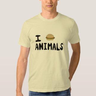 I Really Love Animals Tee Shirts