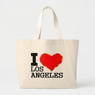 I Really Love Los Angeles Large Tote Bag