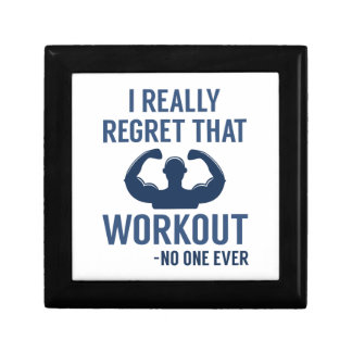 I Really Regret That Workout Gift Box