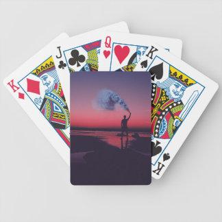 I Rebel Bicycle Playing Cards