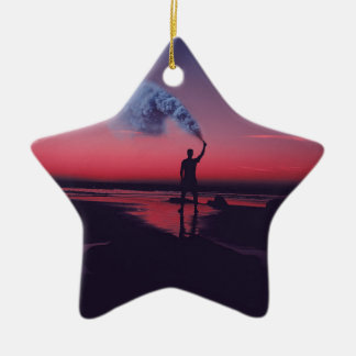 I Rebel Ceramic Ornament