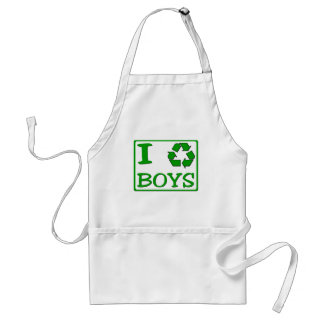 I Recycle Boys Standard Apron