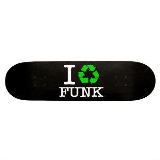 I Recycle Funk Skate Board Decks