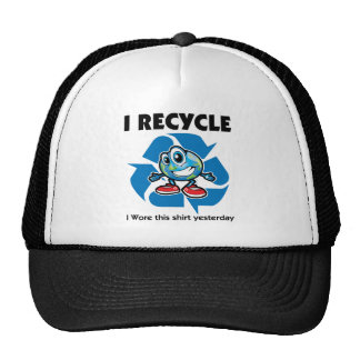 I Recycle Trucker Hat
