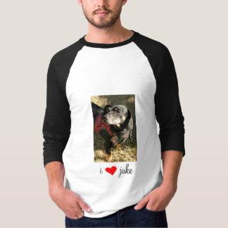 i [REDheart] jake T-Shirt