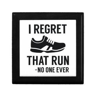 I Regret That Run Gift Box