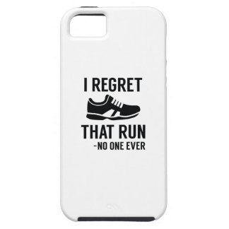I Regret That Run iPhone 5 Cover