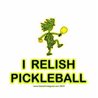 I Relish Pickleball Shirts & Gifts Photo Sculpture Ornament