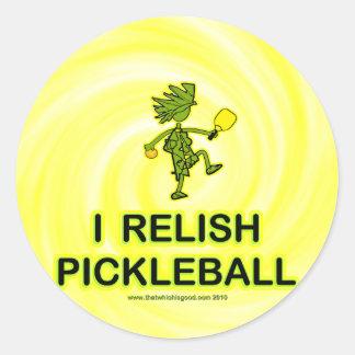 I Relish Pickleball Shirts Gifts Stickers