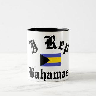 I rep Bahamas Two-Tone Coffee Mug