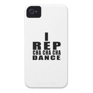 I REP CHA CHA CHA DANCE DESIGNS Case-Mate iPhone 4 CASES