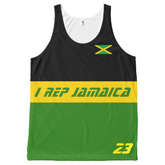I rep Jamaica All-Over-Print Tank Top