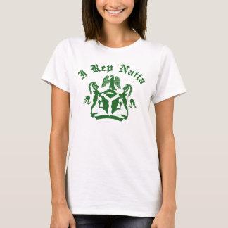 I rep Naija design with coat of arms T-Shirt