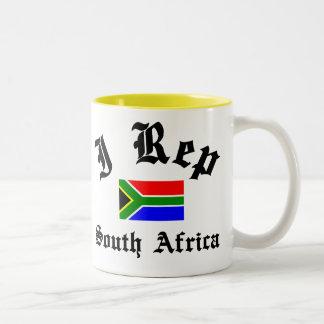 I rep South Africa Two-Tone Coffee Mug