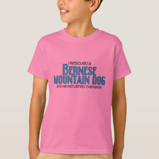 I Rescued a Bernese Mountain Dog (Male Dog) T-Shirt