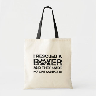 I rescued a boxer bags