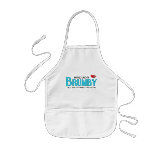 I Rescued a Brumby (Female Horse) Kids Apron