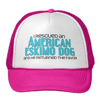I Rescued an American Eskimo Dog (Male Dog) Trucker Hat