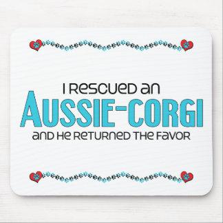 I Rescued an Aussie-Corgi (Male) Dog Adoption Mouse Pad