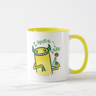 I Reuse Stuff -- mugs