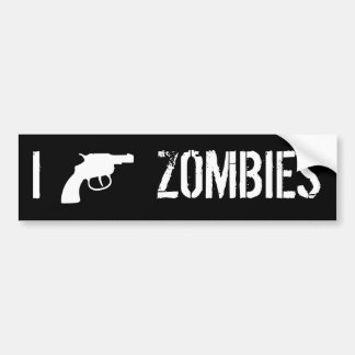 I Revolver Zombies Bumper Sticker