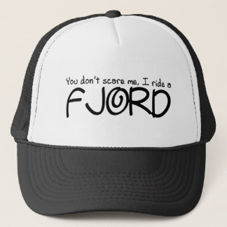 I Ride a Fjord Trucker Hat