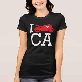 I Ride CA T-Shirt