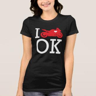 I Ride Oklahoma T-Shirt