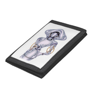 I robot trifold wallets