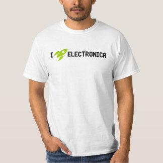 I Rocket Electronica - Light Color T Shirt