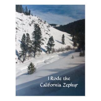 I Rode the California Zephyr Postcard