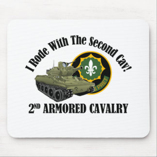 I Rode With The 2nd Cav! - 2nd ACR M551 Mouse Pad