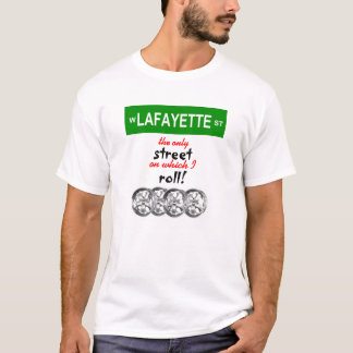 I Roll With Lafayette! - Men's T-Shirt